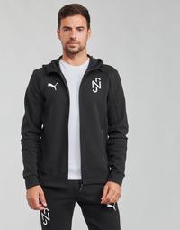 Oblačila Moški Puloverji Puma NJR EVOSTRIPE JKT Črna