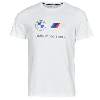 Oblačila Moški Majice s kratkimi rokavi Puma BMW MMS ESS LOGO TEE Bela