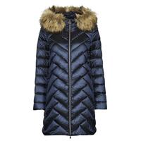 Oblačila Ženske Puhovke Geox BLENDA Modra