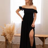 Oblačila Ženske Dolge obleke Céleste PATCHOULI Črna