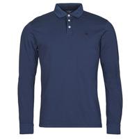 Oblačila Moški Polo majice dolgi rokavi Hackett HM550879 Modra
