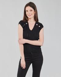 Oblačila Ženske Topi & Bluze Morgan MDIDO Črna