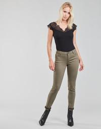 Oblačila Ženske Hlače s 5 žepi Morgan PETRA Tymianek