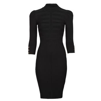 Oblačila Ženske Kratke obleke Morgan RMTO Črna