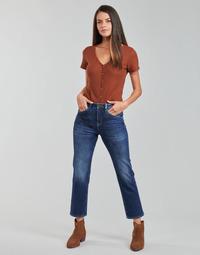Oblačila Ženske Jeans straight Freeman T.Porter MONIKA SDM Modra