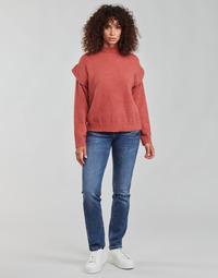 Oblačila Ženske Jeans straight Freeman T.Porter ALEXA STRAIGHT SDM Modra