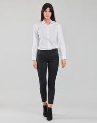 Oblačila Ženske Hlače s 5 žepi Freeman T.Porter TESSA CLASSICO Črna
