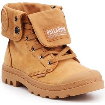 Čevlji  Visoke superge Palladium Manufacture Pampa Baggy NBK 76434-717 brown