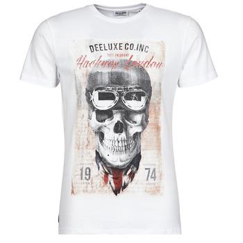 Oblačila Moški Majice s kratkimi rokavi Deeluxe CLEM Bela