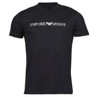 Oblačila Moški Majice s kratkimi rokavi Emporio Armani 8N1TN5 Črna