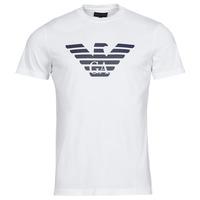 Oblačila Moški Majice s kratkimi rokavi Emporio Armani 8N1TN5 Bela