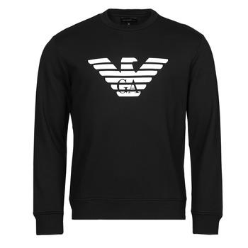 Oblačila Moški Puloverji Emporio Armani 8N1MR6 Črna