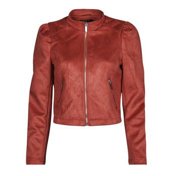 Oblačila Ženske Usnjene jakne & Sintetične jakne Only ONLSHELBY Rožnata