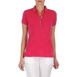 Oblačila Ženske Polo majice kratki rokavi Napapijri ELINDA Rožnata