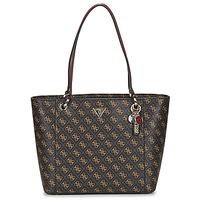 Torbice Ženske Nakupovalne torbe Guess NOELLE ELITE TOTE Kostanjeva