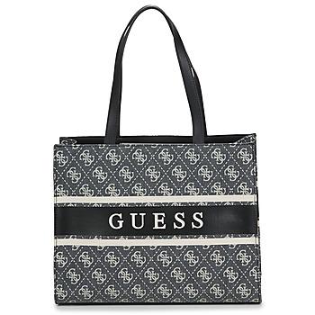 Torbice Ženske Nakupovalne torbe Guess MONIQUE TOTE Črna