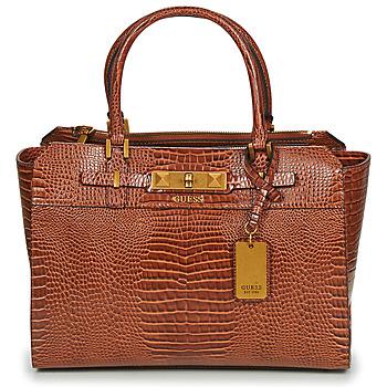 Torbice Ženske Ročne torbice Guess RAFFIE CARRYALL Cognac