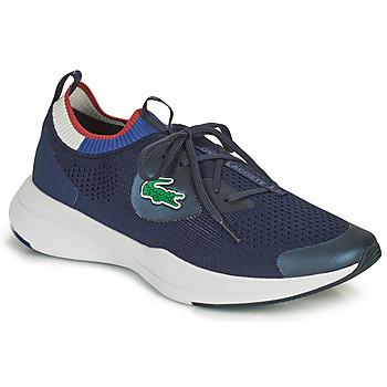 Čevlji  Moški Nizke superge Lacoste RUN SPIN KNIT 0121 1 SMA Modra