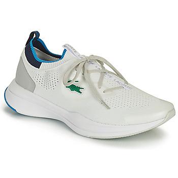 Čevlji  Moški Nizke superge Lacoste RUN SPIN KNIT 0121 1 SMA Bela / Modra