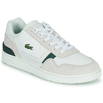 Čevlji  Moški Nizke superge Lacoste T-CLIP 0120 3 SMA Bela / Bež