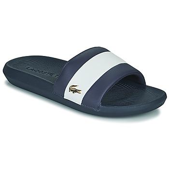 Čevlji  Moški Natikači Lacoste CROCO SLIDE 120 3 US CMA Modra / Bela