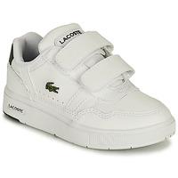 Čevlji  Otroci Nizke superge Lacoste T-CLIP 0121 1 SUI Bela