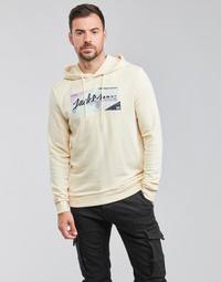 Oblačila Moški Puloverji Jack & Jones JORLOGON Bež