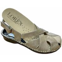 Čevlji  Ženske Sandali & Odprti čevlji Calzaturificio Loren LOM2867tor tortora