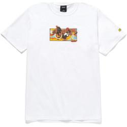 Oblačila Moški Majice s kratkimi rokavi Huf T-shirt dhalsim ss Bela