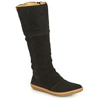 Čevlji  Ženske Mestni škornji    El Naturalista CORAL Črna
