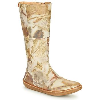 Čevlji  Ženske Mestni škornji    El Naturalista CORAL Siva