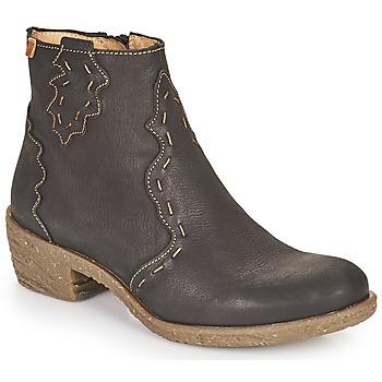 Čevlji  Ženske Gležnjarji El Naturalista QUERA Črna