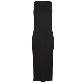 Oblačila Ženske Kratke obleke Karl Lagerfeld KITTED WRAP DRESS Črna