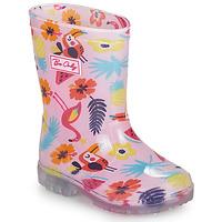 Čevlji  Deklice škornji za dež  Be Only JANEIRO Rožnata