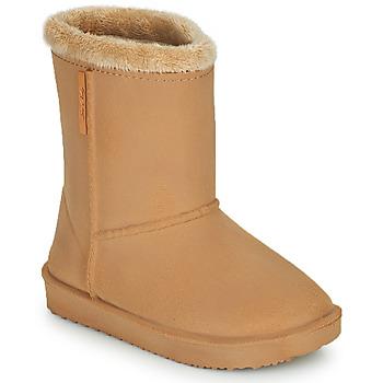 Čevlji  Deklice škornji za dež  Be Only COSY Bež