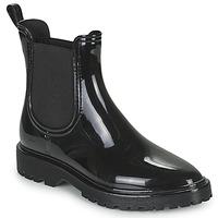 Čevlji  Ženske škornji za dež  Be Only INGY Črna