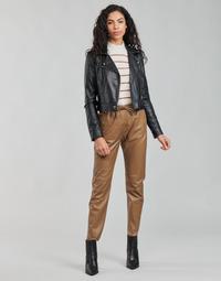 Oblačila Ženske Hlače s 5 žepi Oakwood GIFT Kamel