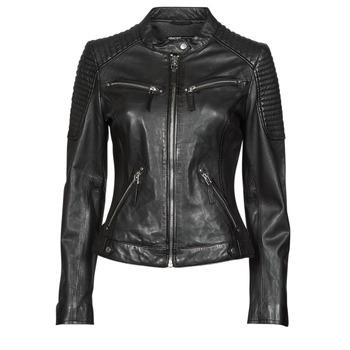 Oblačila Ženske Usnjene jakne & Sintetične jakne Oakwood HILLS6 Črna