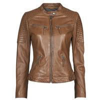 Oblačila Ženske Usnjene jakne & Sintetične jakne Oakwood HILLS6 Cognac
