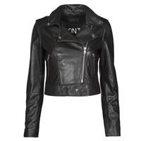 Oblačila Ženske Usnjene jakne & Sintetične jakne Oakwood NIKKO Črna