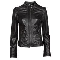 Oblačila Ženske Usnjene jakne & Sintetične jakne Oakwood KARINE Črna