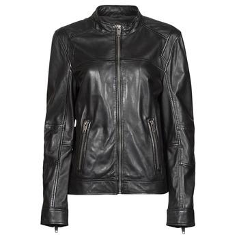 Oblačila Ženske Usnjene jakne & Sintetične jakne Oakwood DUBLIN Črna