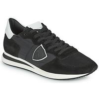 Čevlji  Moški Nizke superge Philippe Model TRPX LOW BASIC Črna