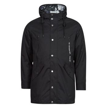 Oblačila Moški Parke Guess COMMUTER DOUBLE JKT Črna