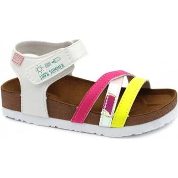 Čevlji  Deklice Sandali & Odprti čevlji Gioseppo CHANCLAS NIÑA  REID 62326 Bela