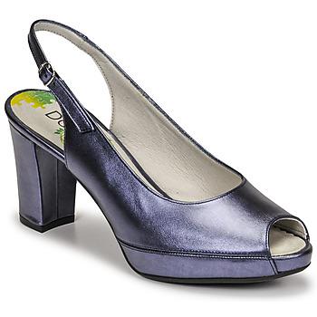 Čevlji  Ženske Salonarji Dorking MODALIA Modra