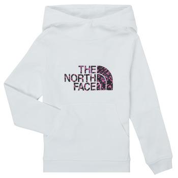 Oblačila Deklice Puloverji The North Face DREW PEAK HOODIE Bela