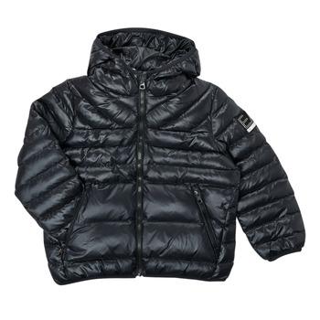 Oblačila Dečki Puhovke Emporio Armani EA7 FHALIA Črna