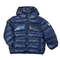 Oblačila Dečki Puhovke Emporio Armani EA7 TREDA Modra