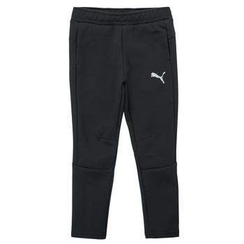 Oblačila Dečki Spodnji deli trenirke  Puma EVOSTRIPE PANT Črna